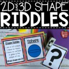 Shape Riddles Plane and 3-D
