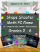 Shape Shooter, A safe and fun math video game to practice