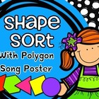Shape Sort &amp; Polygon Song