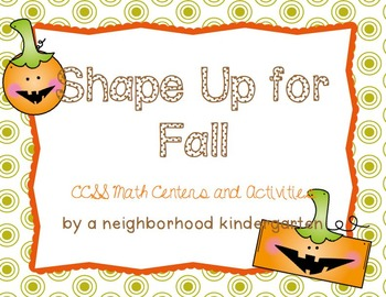Shape Up for Fall