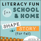 Shape a Story: Fall-Themed Collage Art Writing