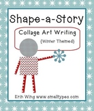 Shape a Story: Winter-Themed Collage Art Writing