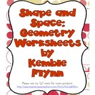 Shape and Space: Geometry Worksheets