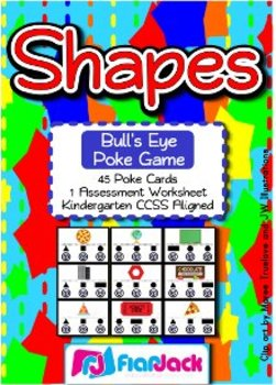 Shapes Bull's Eye Poke Game