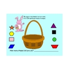 Shapes Fill the Basket-Easter or Spring
