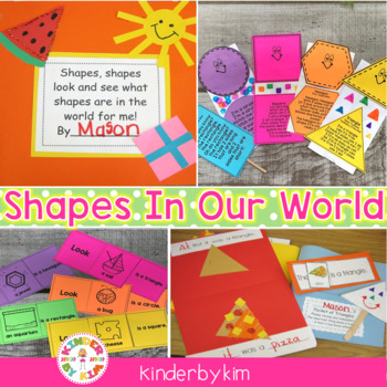 Shapes In Our World Pocket Pack!