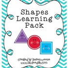 Shapes Learning Pack