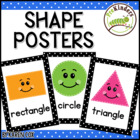 Shapes Polka Dot Posters