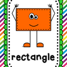 Shapes Posters for Young Learners