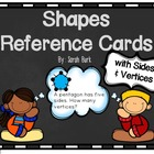 Shapes Reference Cards with Sides & Angles