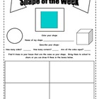 Shapes Scavenger Hunts