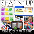 Shapin&#039; Up:  A Shape Unit with 2D and 3D Shapes