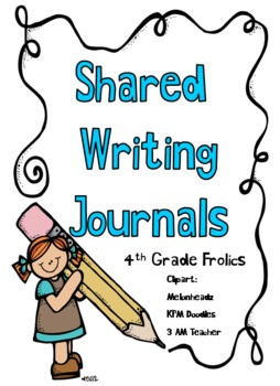 Shared Writing Journal Covers