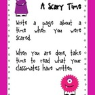 Shared Writing Journal Topics