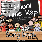 Shari Sloane School Time Rap Fun Music Book