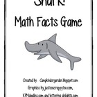 Shark Math Facts Game-Common Core