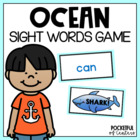 Shark! Sight Word Bang Game