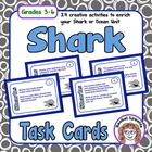 Shark Task Cards: 24 cards with fun facts and related activities!