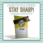 Sharpen the Saw {Character Craftivity #7}