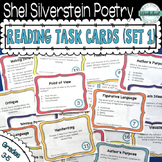 Shel Silverstein Poetry Task Cards Volume 1 (Common Core Aligned)