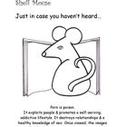 "Shelf Mouse - ""Just in Case You Haven't Heard"" Set 7 - Pos"