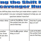 Shift Key Scavenger Hunt!