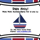 Ships Ahoy!  Word Work Activities for oi and oy--Common Co