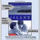 Shipwreck-Book 1 of Island Series- Vocabulary Introduction