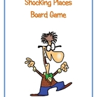 Shocking Places Board Game (Coverting Fractions Decimals a