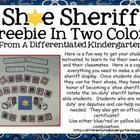 Shoe Sheriff Kit For Motivating Young Shoe Wranglers