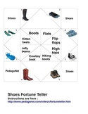 Shoe Types Fortune Teller