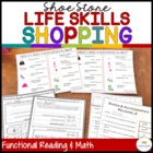 Shoes Shopping: Functional Literacy and Math Skills (Speci