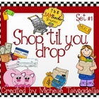Shop 'Til You Drop: Store and Shopping Digital Clip Art