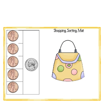 Shopping!  Money Activity Pack