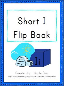Short I Word Work Flip Book
