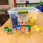 Short & Long Vowel Word Building Legos