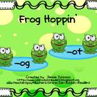 Short O Frog Hoppin' Word Sort for Centers/Small Group