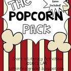 Short O Popcorn Literacy Activities