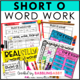 Short O Word Work Activities