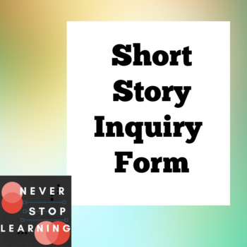 Short Story Inquiry Form