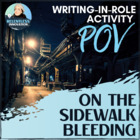 Short Story Point of View - On The Sidewalk Bleeding Assignment