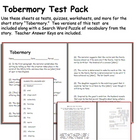 Short Story Test: Tobermory by Saki