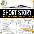 Short Story Writing-Unique Story Starter Idea, Worksheets,