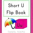 Short U Word Work Flip Book