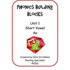 Short Vowel A Phonics Building Blocks Program