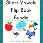 Short Vowel Activity Flip Book Bundle