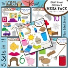 Short Vowel CVC Word Clip Art - Mega Pack {Save $5 by Purc