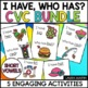"Short Vowel Party-5 Complete ""I Have, Who Has"" Games"