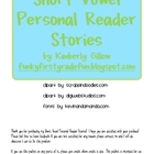 Short Vowel Personal Reader Stories