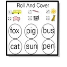 Short Vowel Phonics and CVC Word Pack:  Emergent Readers a